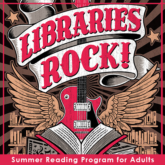 Libraries Rock! (Adults SRP Poster)